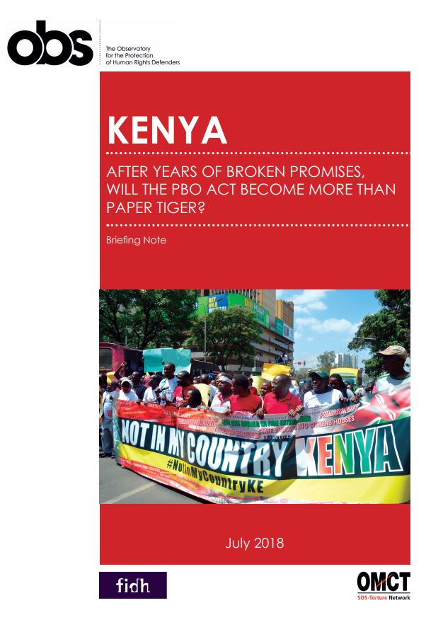 Kenya: After years of broken promises, will the PBO Act become more than paper tiger?