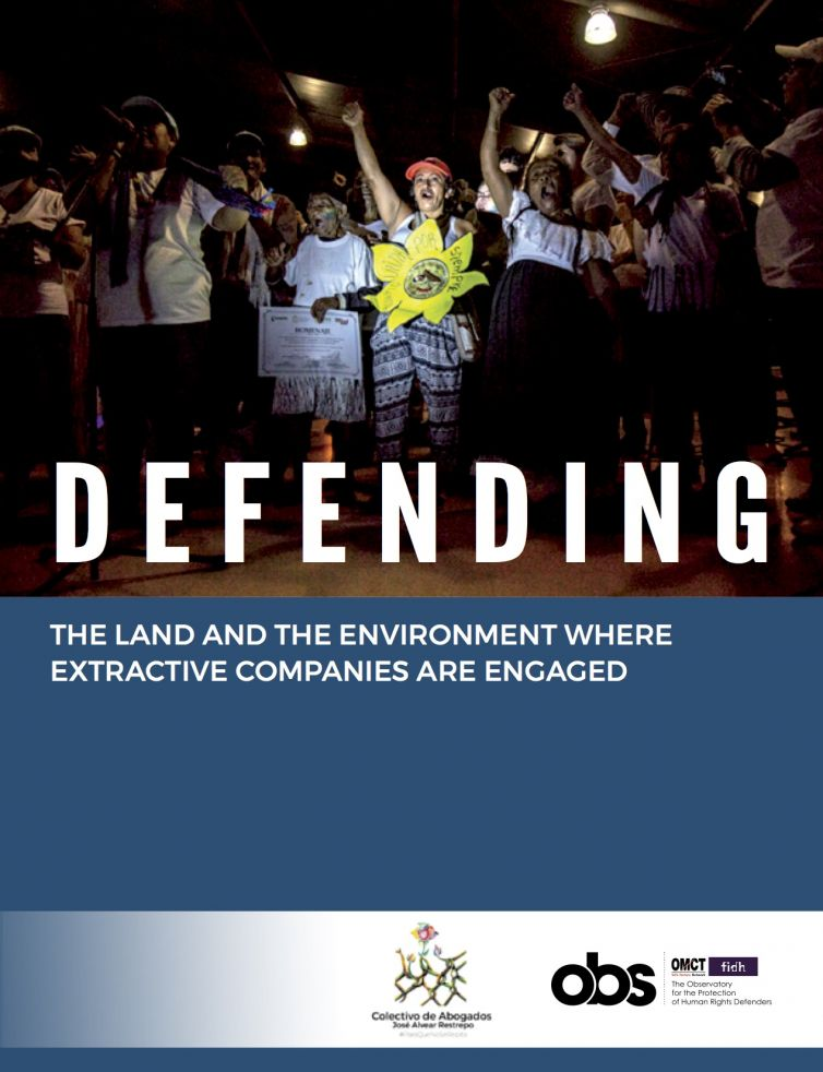 Colombia: Defending land and the environment in contexts of extractive industries