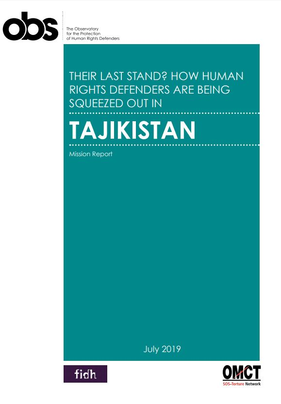 Their last stand? How human rights defenders are being squeezed out in Tajikistan
