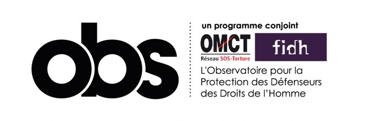 The Observatory for the Protection of Human Rights Defenders (A OMCT/FIDH initiative)