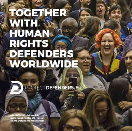 Together with human rights defenders worldwide